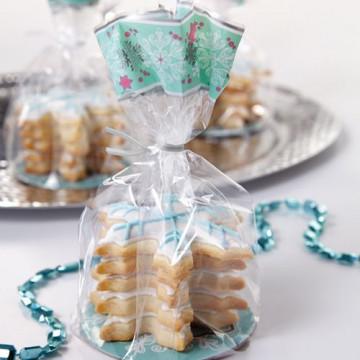 Pack de 6 bolsas + platos Muñeco de Nieve Navidad Wilton [CLONE]