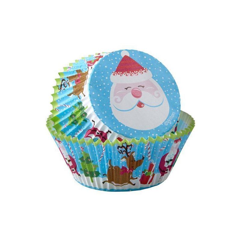 Cápsulas mini cupcakes Estrella Plata Navidad Wilton [CLONE] [CLONE] [CLONE] [CLONE]