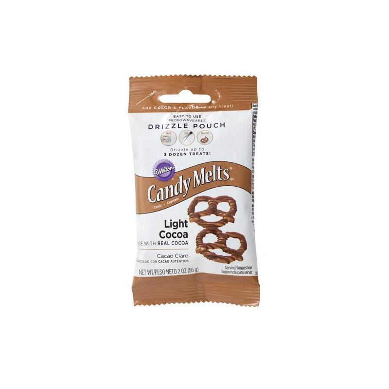 Candy melts Mini Chocolate con leche Wilton