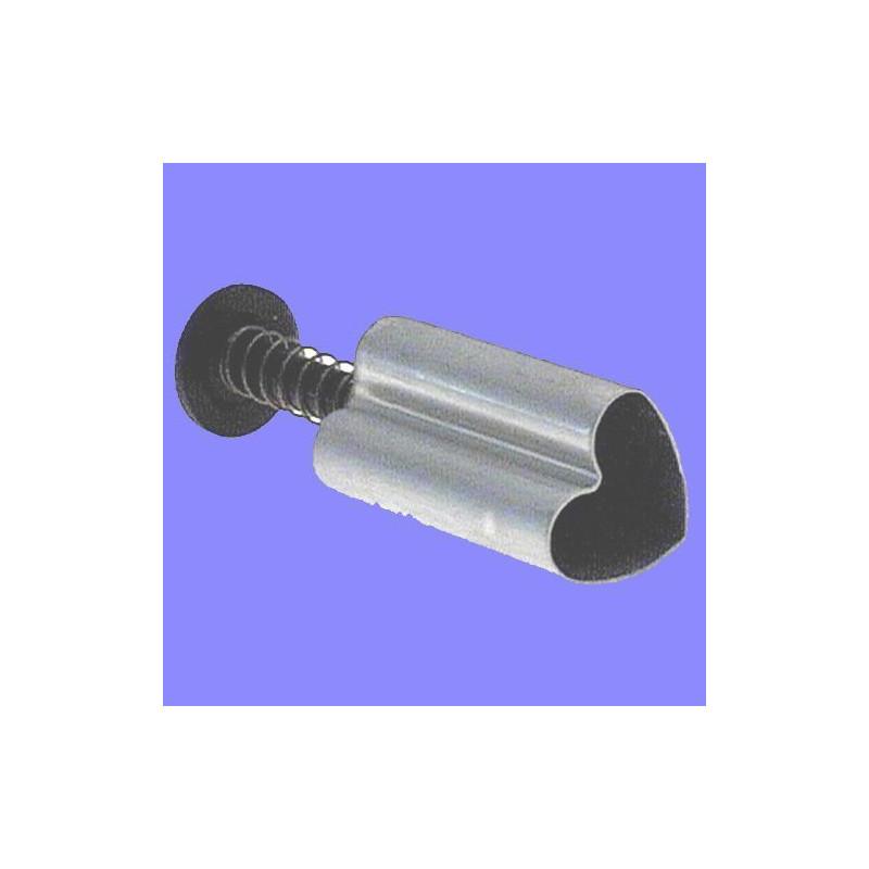 Cortante mini con expulsor corazón 0,6 cm