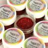 Purpurina fina Decorative Sparkles Hologram Red Rainbowdust