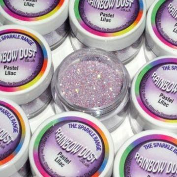 Purpurina fina Decorative Sparkles Pastel Lilac Rainbow Dust
