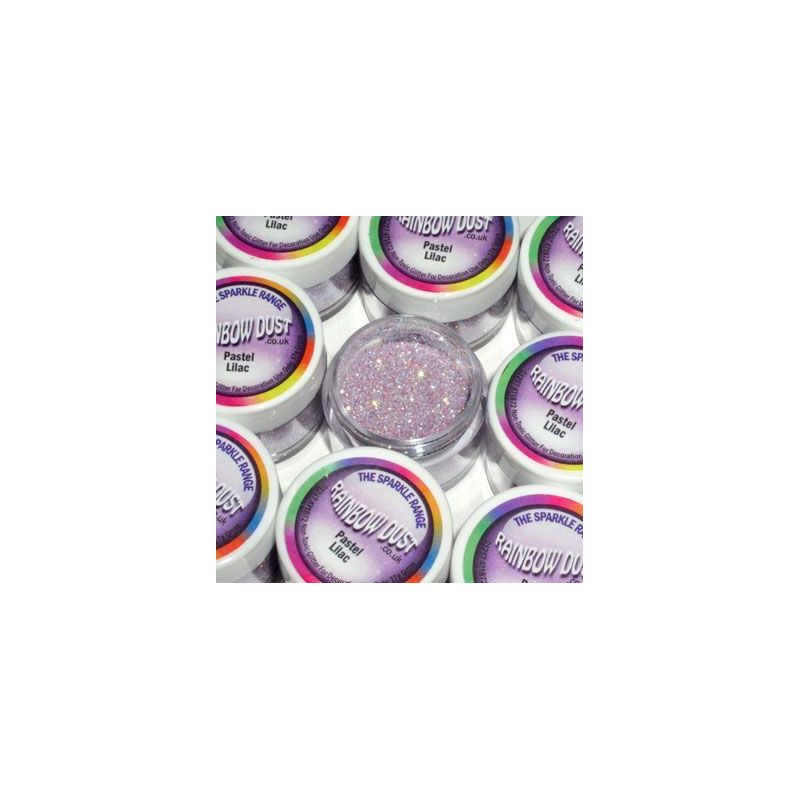Purpurina fina Decorative Sparkles Pastel Lilac Rainbow Dust
