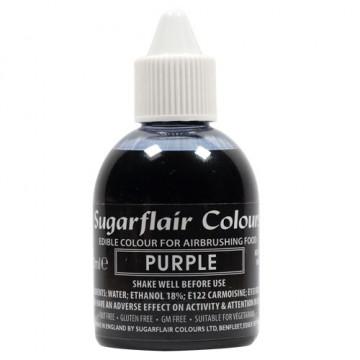 Colorante para aerógrafo Púrpura 60ml Sugarflair