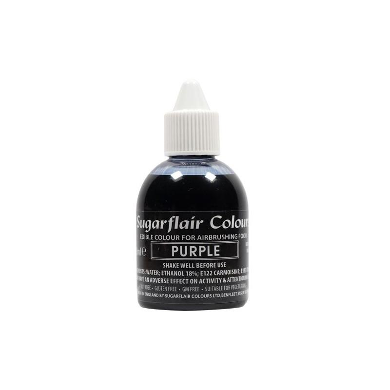Colorante para aerógrafo Violeta 60ml Sugarflair [CLONE]