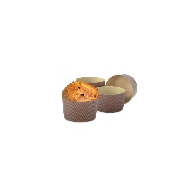 Pack de 5 moldes Panettone papel duro 750gr Decora Italia [CLONE]