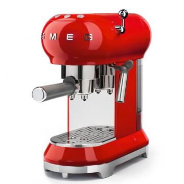 Cafetera Espresso Roja Smeg
