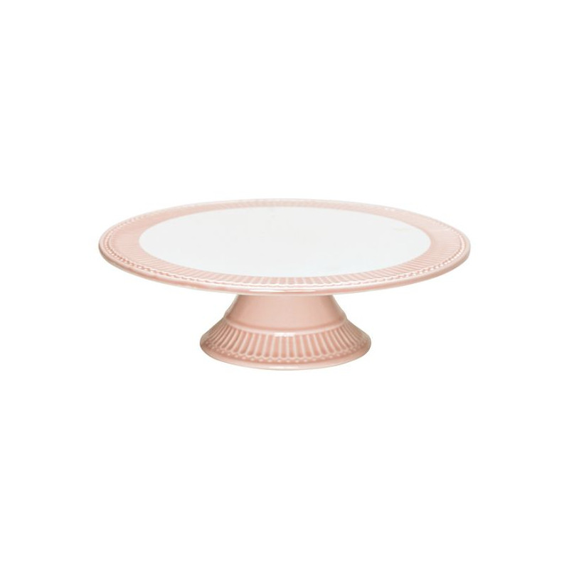 Cake Stand Alice Pale Pink Green Gate