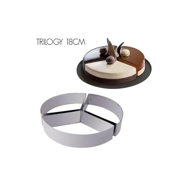 Kit de 6 aros de pastelería Molde Tondo Martellato [CLONE] [CLONE]