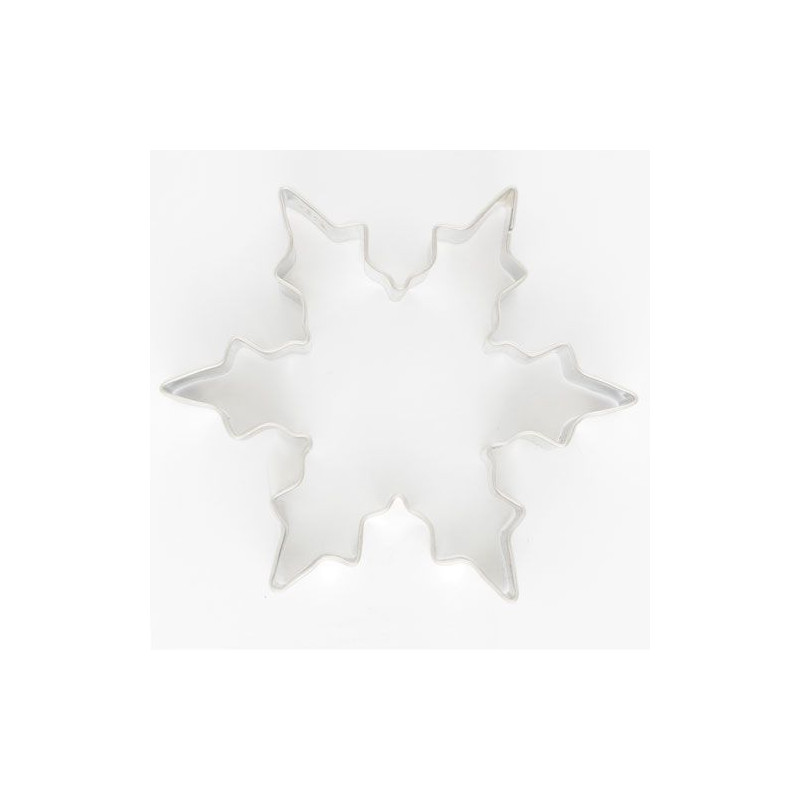 Cortante galleta copo de nieve 6.4 cm Städter