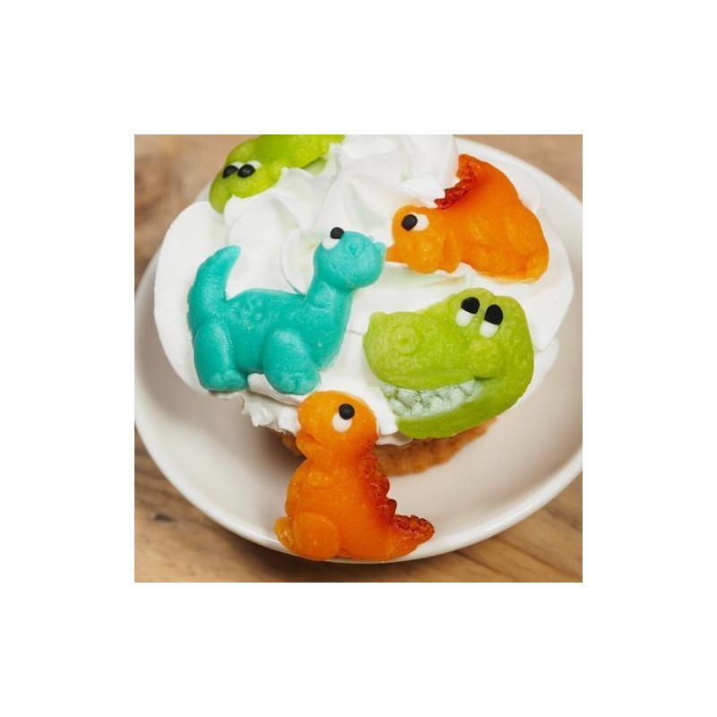 Decoraciones comestibles de mazapan Dinosaurios Funcakes