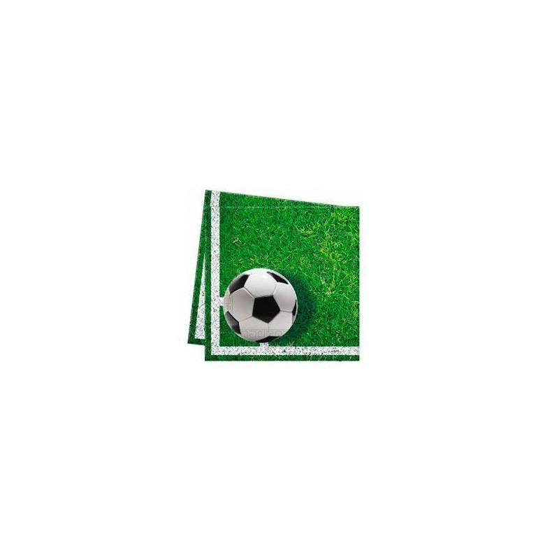Pack de 20 servilletas Fiesta Futbol