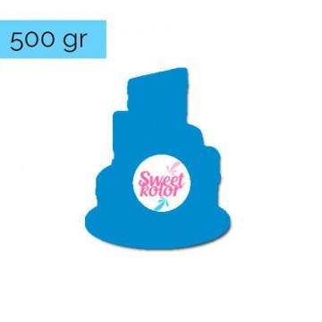 Fondant Azul Super Héroe 500 gr Sweet Kolor