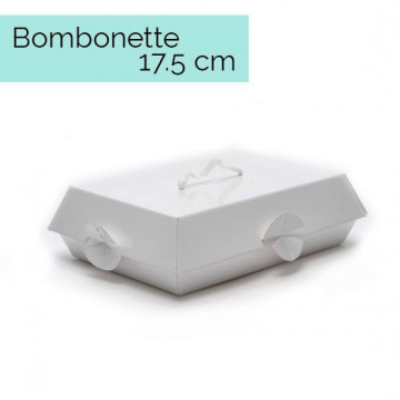 Caja para dulces con tapa Bombonette 17.5 cm