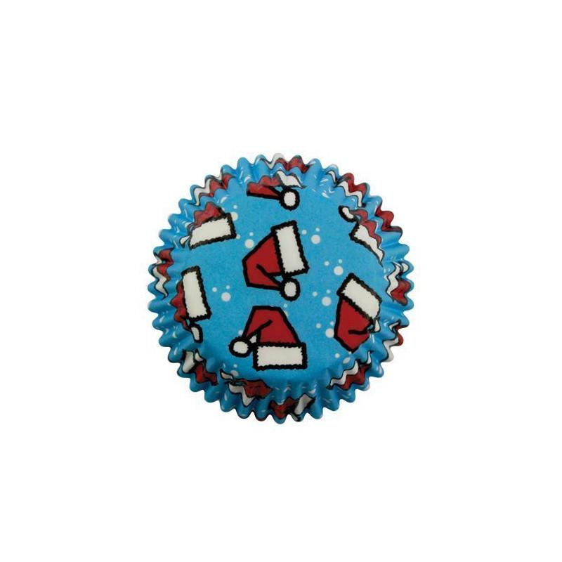Capsulas mini cupcakes Rojo Copo de Nieve Wilton [CLONE]