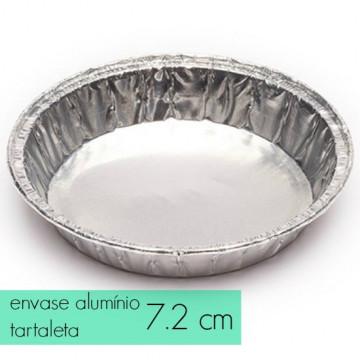 Pack de 10 envases de alumínio tartaleta 7.2 cm