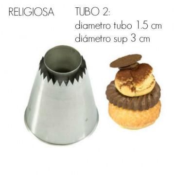 Boquilla para religiosas Tubo 2 Silikomart