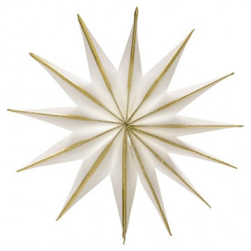 Estrella de Papel 30 cm Gold Green Gate