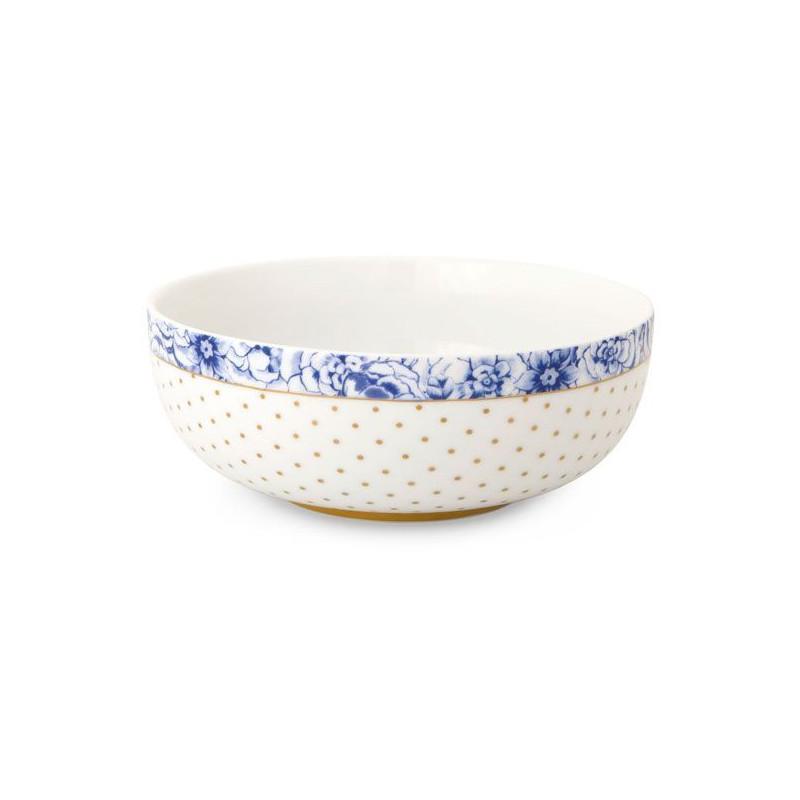 Bol de cerámica Royal Blanc Pip Studio