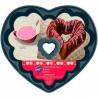 Molde de bundt cake de corazón 15 cm Wilton