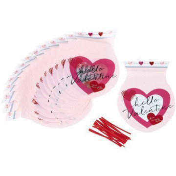 Pack de 15 bolsas Hello Valentín Wilton