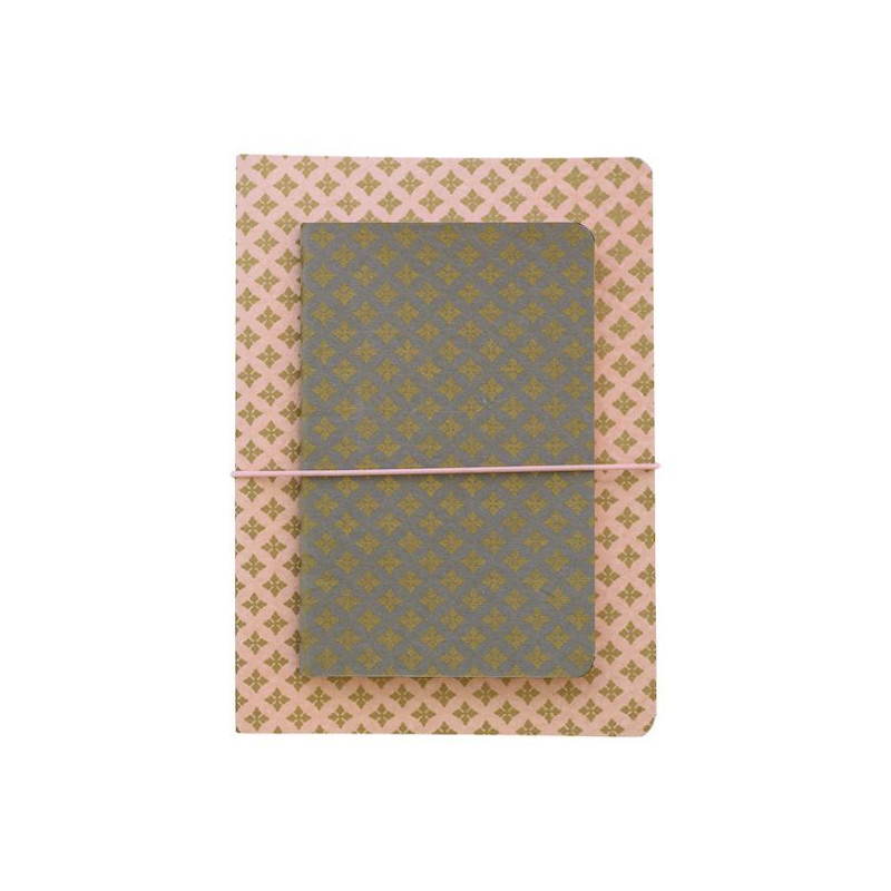 Pack de 3 Blocks de Notas Sasha Green Gate
