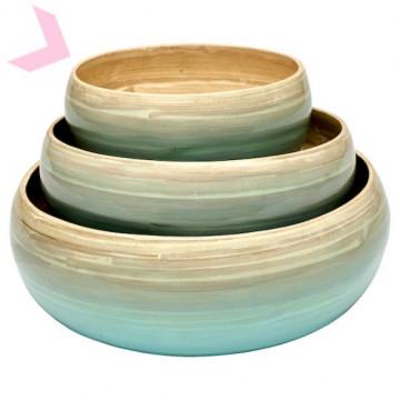 Bol de Bambú Pequeño Menta Green Gate