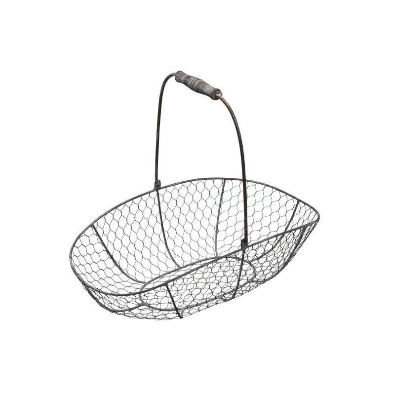 Cesta de alambre rústica mediana Kitchen Craft [CLONE] [CLONE]