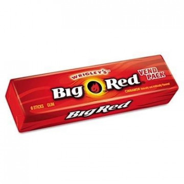 Paquete de Chicles de Canela Big Red de Wrigley