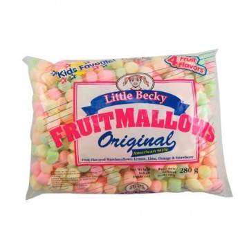 Mini Nubes Marshmallows de Frutas Little Becky