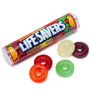 Caramelos Chimos americanos 5 sabores Life Savers