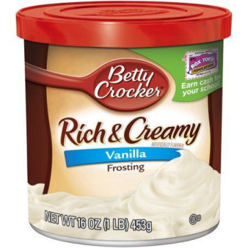 Frosting Crema de relleno Chocolate Betty Crocker [CLONE] [CLONE]