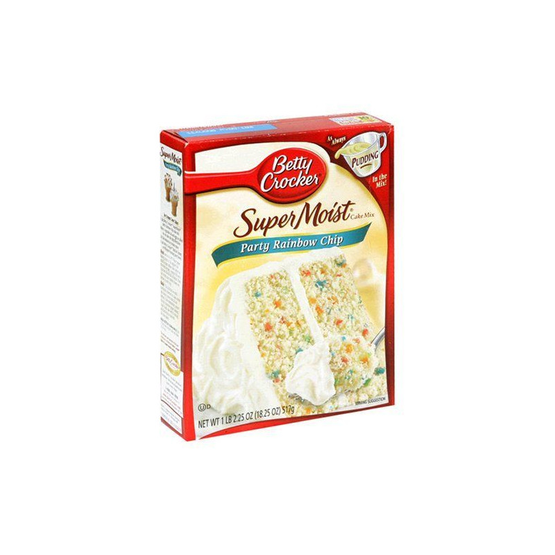 Preparado de bizcocho Confeti de colores Betty Crocker