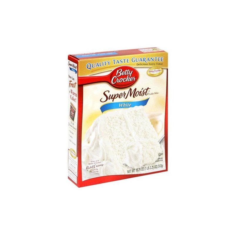 Preparado de bizcocho Blanco Betty Crocker