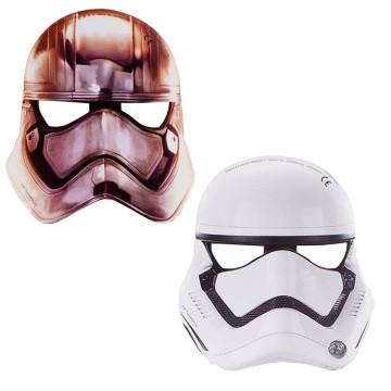 Pack 6 mascaras Star Wars Soldado Imperial