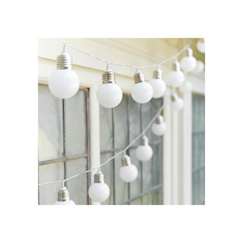 Guirnalda de luces Bombillas Blancas