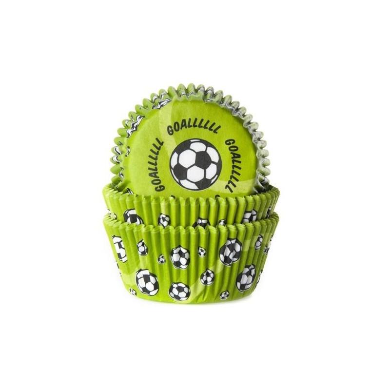 Cápsulas cupcakes Futbol Goool House of Marie