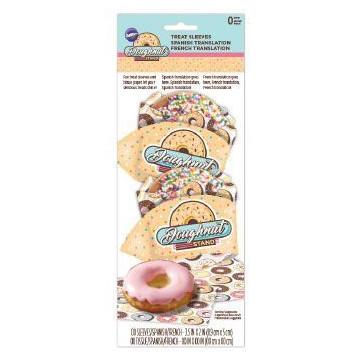 Base + Papel para envolver Donuts Wilton