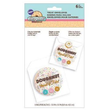 Pack de 6 Bolsas con cierre Donuts Wilton
