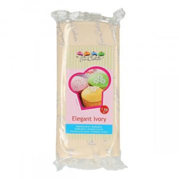 Fondant blanco sabor Limón 1kg Funcakes [CLONE]