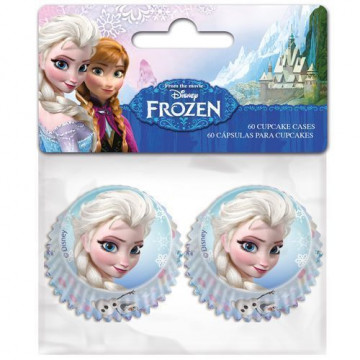 Cápsulas para mini cupcakes Frozen