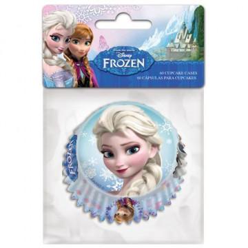 Cápsulas para cupcakes Frozen