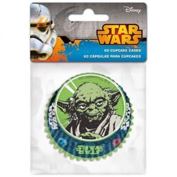 Cápsulas para cupcakes Yoda Star Wars
