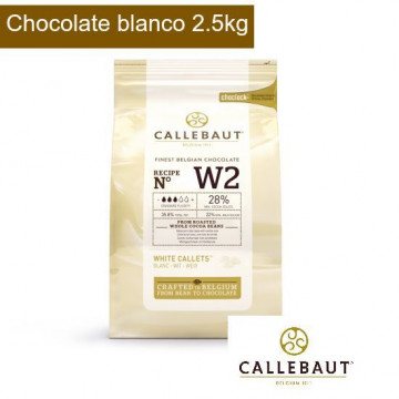 Chocolate blanco en grageas 1kg Callebaut [CLONE]