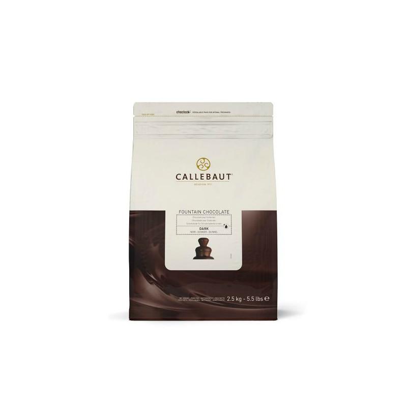 Chocolate negro para fuentes de chocolate 2.5kg