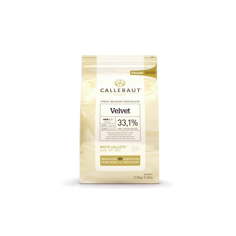 Chocolate blanco en grageas 1kg Callebaut [CLONE] [CLONE]