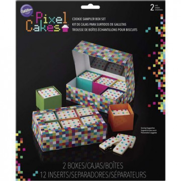 Pack de 2 cajas Pixel Wilton