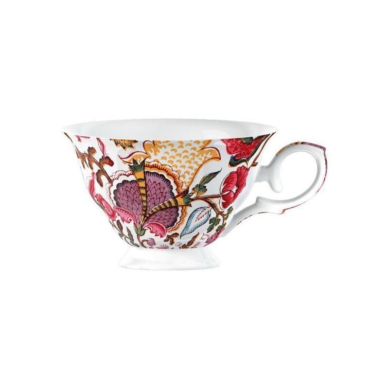 Taza con asa guirnalda de flores V&A Toile [CLONE]