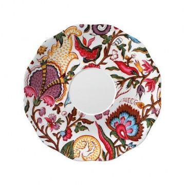 Plato de cerámica pequeño flores V&A Toile