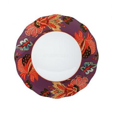 Plato de cerámica Flores V&A Toile